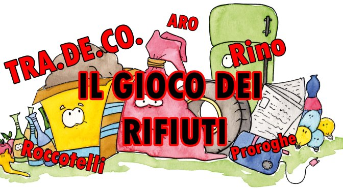 Il gioco dei Rifiuti a Minervino: tra soldi e incertezze.